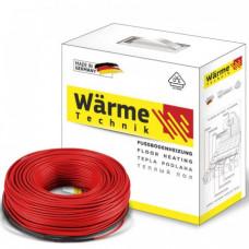 Тепла підлога Комплект двожильний Wärme Twin cable 1340 W 7,4-11,2 м2 (74,5 м)